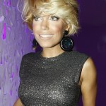 Sylvie van der Vaart Cute Messy Hairstyle for Thick Hair