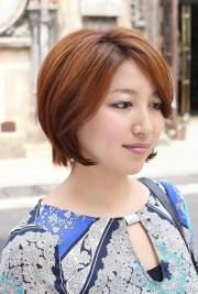 trendy short bob hairstyle