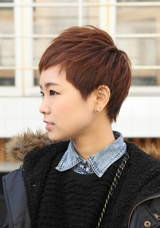 Sharp Sexy Rihanna  Pixie Cut  Boyish Asian Haircut