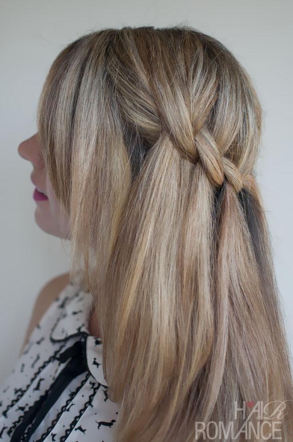 beautiful long hairstyles : beautiful waterfall twist hairstyles 2013 hair trends summer hairstyle ...