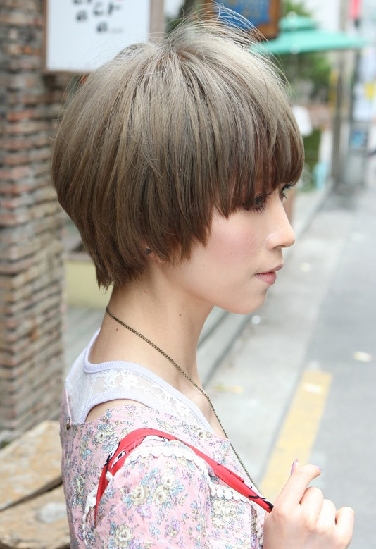 jerry curl hairstyle : ... Retro Fringe - Short Japanese Hairstyle for Girls - Hairstyles Weekly