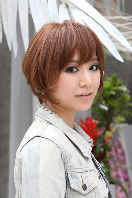 Popualr Short Japanese Hairstyles