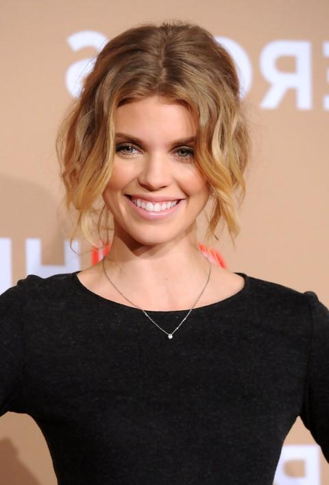 Messy Faux Bob Haircut for Short Hair - AnnaLynne McCord Hairstyles