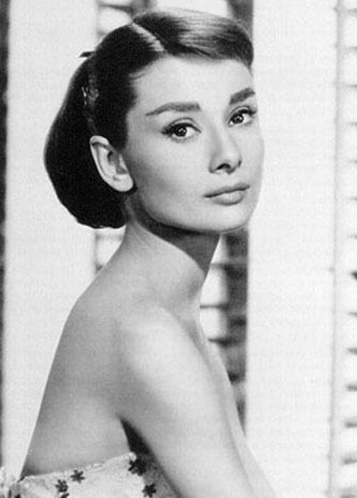 Audrey Hepburn Hairstyle - Classic updo hairstyles for women