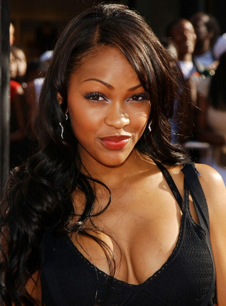 Meagan Good Long Wave Hairstyle Styled For Seduction