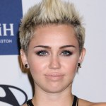 Chic short spiked faux hawk haircut for women - Miley Cyrus Short Haircut
