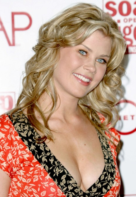 long wavy hairstyles for women Alison Sweeney hairstyle