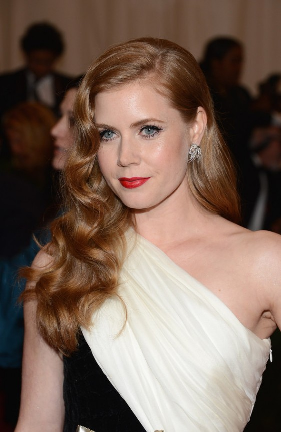 Amy Hairstyle : hairstyle, Formal, Hair:, Understated, Glamour, Side-swept, Waves, Hairstyles, Weekly