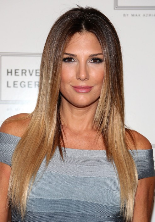Long straight ombre hair - Daisy Fuentes hairstyles