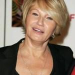Short hairstyle for women over 50: Ellen Barkin's haircut