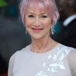 Short haircut for women over 60 - Helen Mirren short haircut