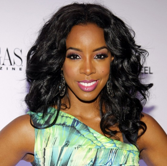 Black wavy hairstyle for black women - Kelly Rowland hairstyle