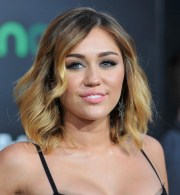 sexy short ombre hair miley cyrus'