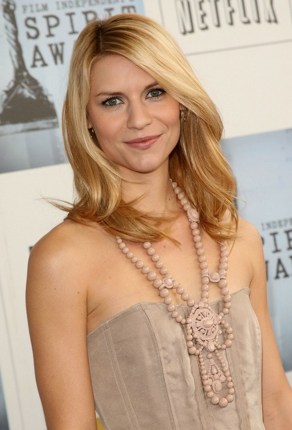 Shoulder Length Trendy Haircut Claire Danes' Medium Length