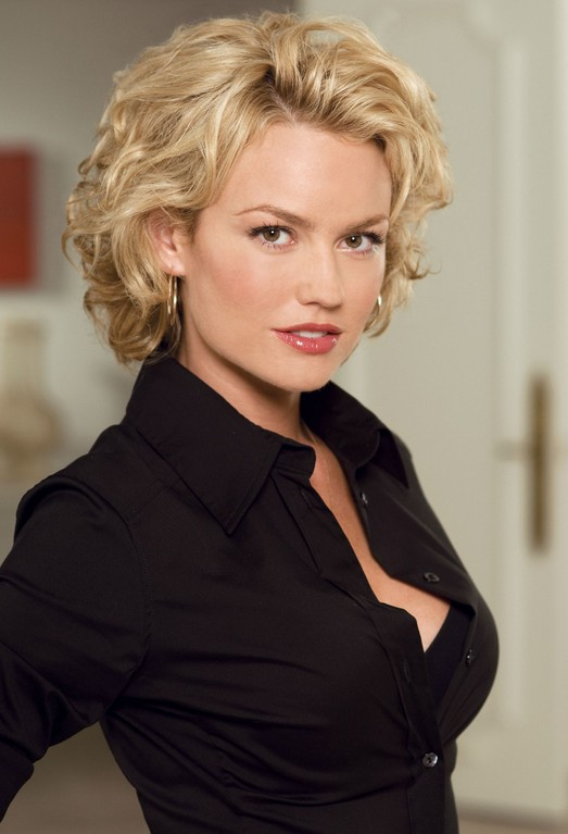 Medium Length Wavy Hairstyle for Women Over 30 - Kelly Carlson hairstyles