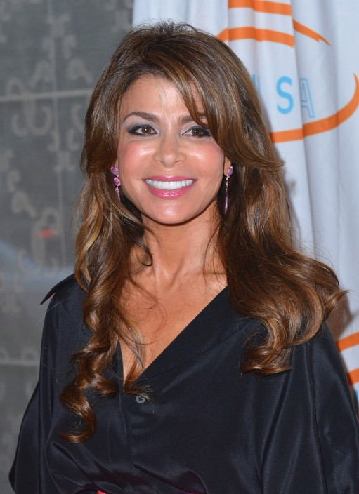 Casual long wavy hairstyle for women - Paula Abdul hairstyles