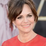Updo hairstyle for women over 60 - Sally Field's Hairstyle