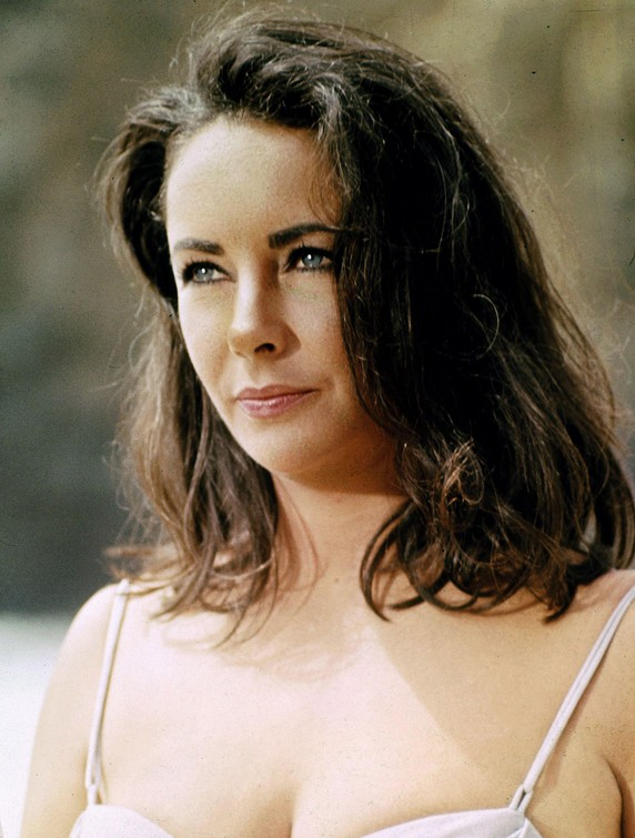 1970's Hairstyle - Elizabeth Taylor's Medium Wavy Hairstyle - Relaxed Long Bob