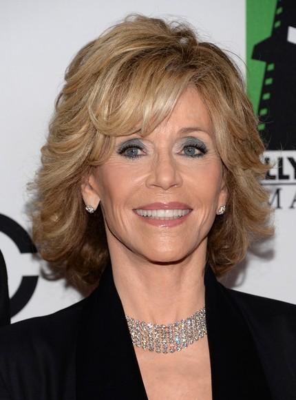 Jane Fonda Short Hairstyle - Short Haircut for Women Over 60