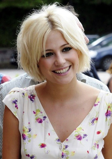Pixie Lott - Short Blonde Hairstyle for 2015 - Summer Haircut