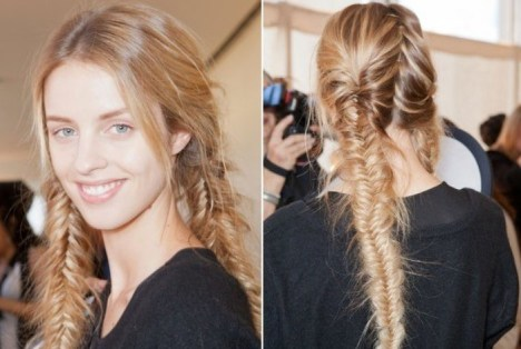 Braids 2014 - Chic Braided Hairstyle for Spring