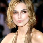 Keira Knightley hairstyle - curly bob hairstyle picture