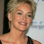 sharon stone hairstyle - short pixie cut for women over 50