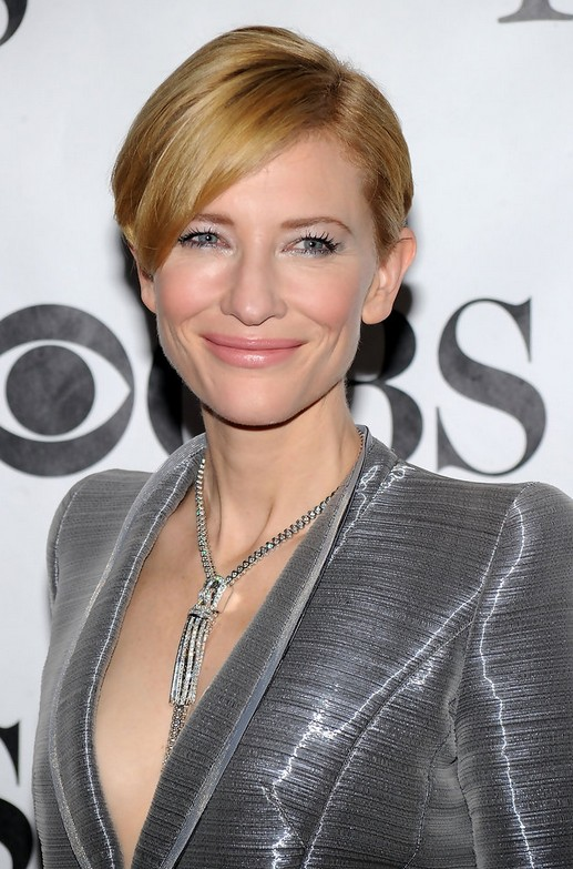 Short Hairstyles For Women Over 40 Cate Blanchetts