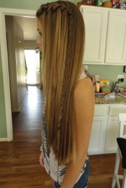 long hipster hair - highlighted