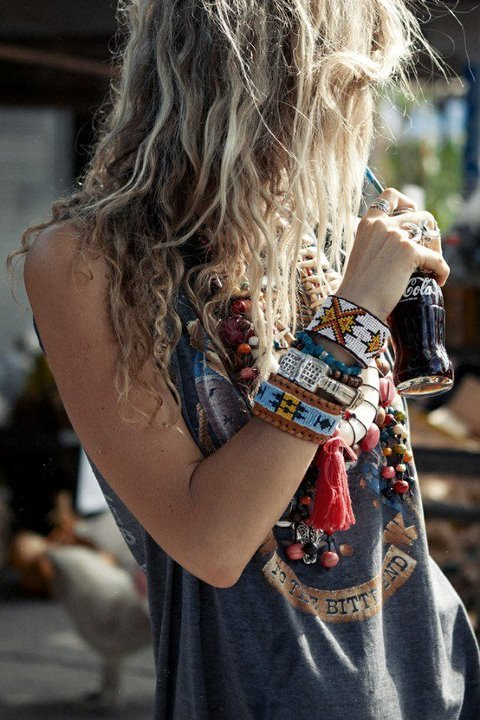 Boho Chic! Grungy 'Bed Head' Long Style