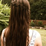 Innovative Asymmetric braid for girls