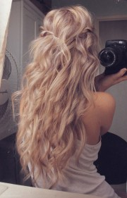 girls hairstyles idea casual long