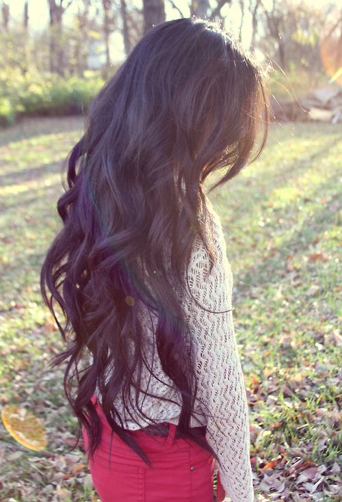 Long Wavy Hair Style Dark Hairstyle For Women Hairstyles Weekly