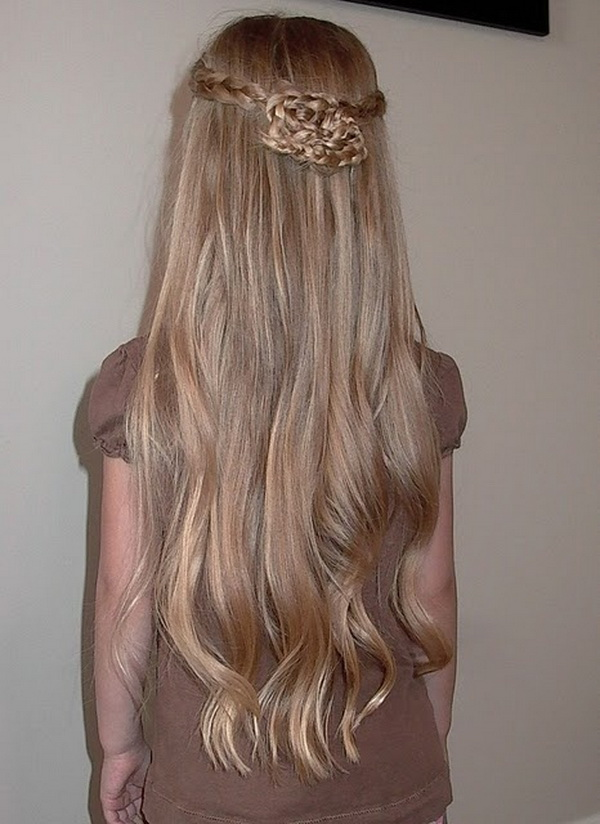 Girls Long Hairstyle Ideas - Great for Prom