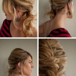 Hair Tutorial How to do a Messy Side Ponytail