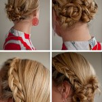 Summer hair ideas: braided Twist & Pin Chignon updo