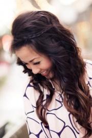 simple easy long hairstyles