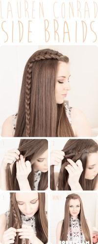 21 Easy Hair Tutorials & DIY Hairstyles