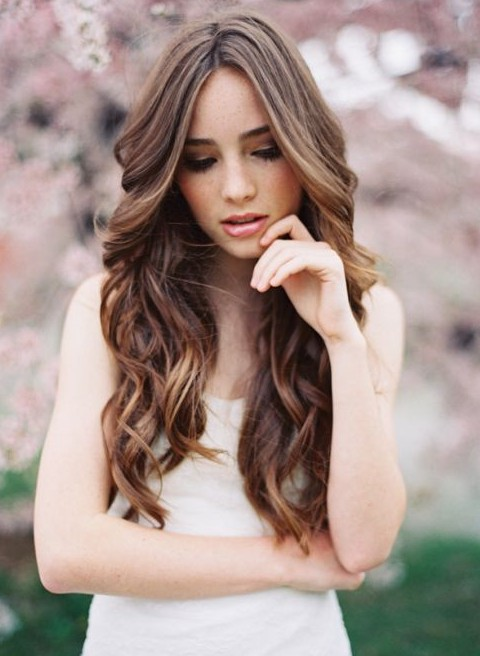 Long Ombre Hair for Wedding