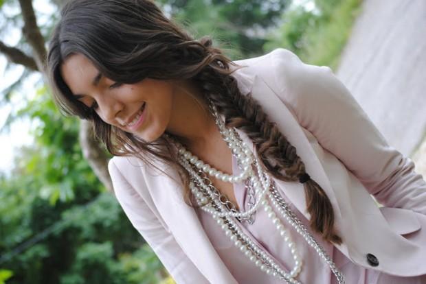 Loose Fishtail Braid for Long Hair