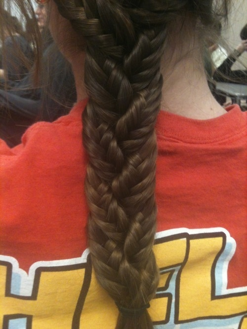 Stunning Asymmetric Plaited Braids For Girls Hairstyles