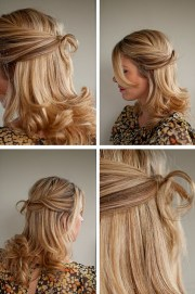 wedding hair idea twisted