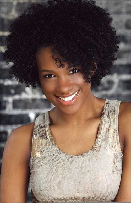 2015 Short Curly Hairstyles for Black Women