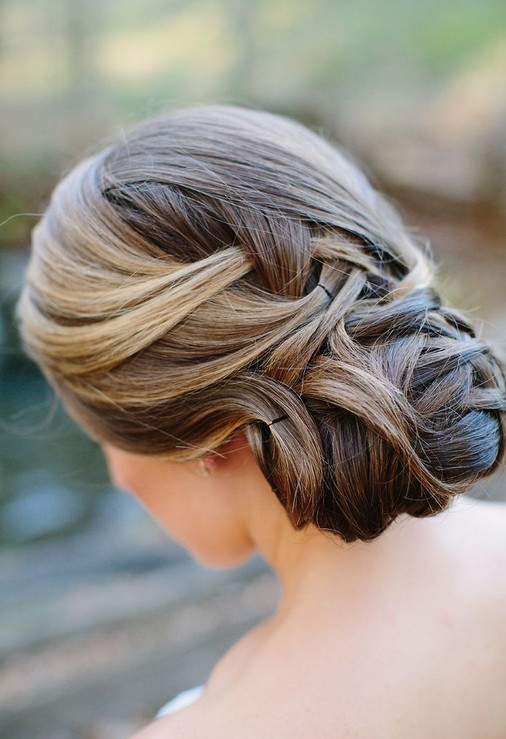 Best Chignon Updo for Wedding