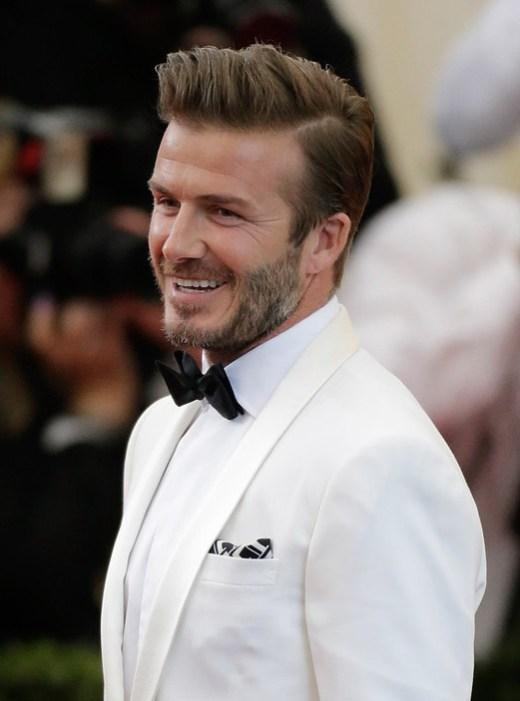 David Beckham Haircut Hairstyles 2014