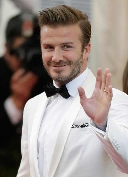 David Beckham Hairstyles for Men 2014