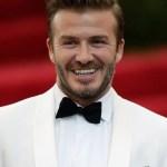 David Beckham's Hairstyle 2014