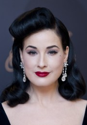 1950 hairstyle dita classic