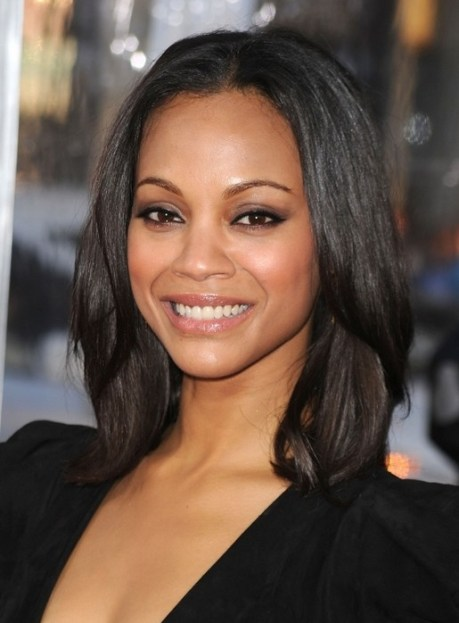 Layered Black Hairstyles - Hairstyle for Oval Face Shapes