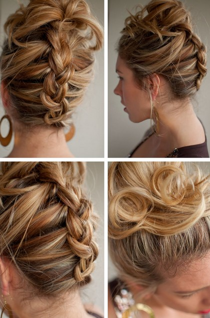 Reverse French Braid Best Summer Hairstyle For Long Hair